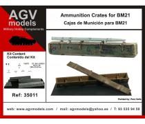 Ammunition crates for BM21