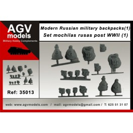 Modern Russian military backpacks SET 1