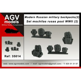 Modern Russian military backpacks SET 2