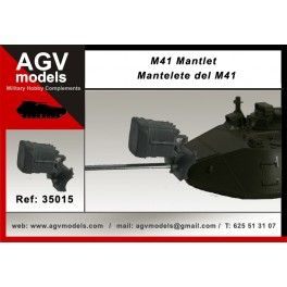 Mantlet for M41
