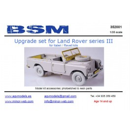 Upgrade set for Land Rover series III