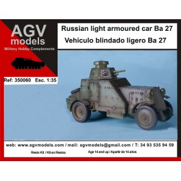 Ba 27 light armoured car