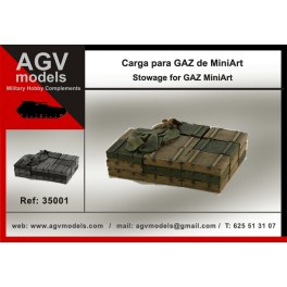 Russian stowage for GAZ