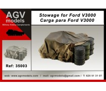 Ford V3000 stowage.